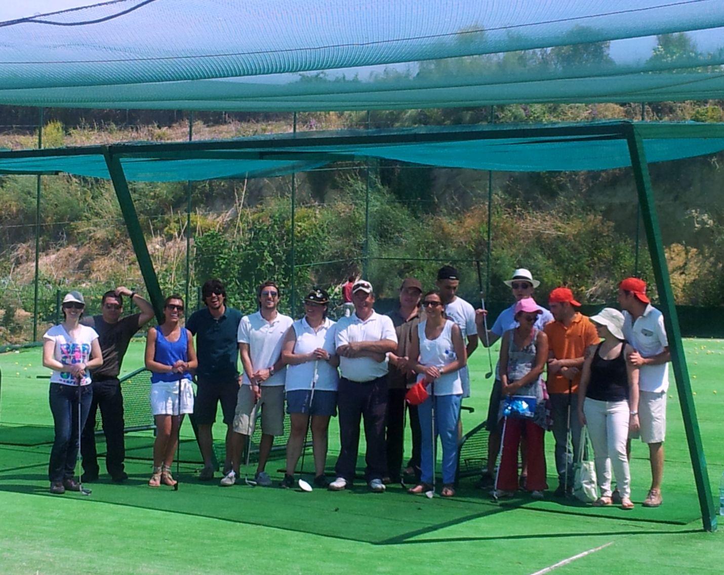 Golfistas da VMER
