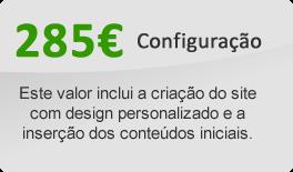 195€ é o valor de configuração do siteBase