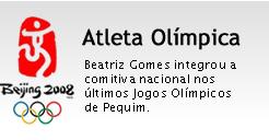 Beatriz Gomes, atleta olímpica