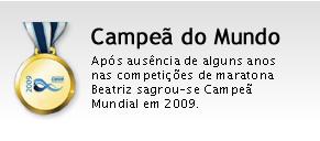 Beatriz Gomes, Campeã do mundo de maratonas 2009