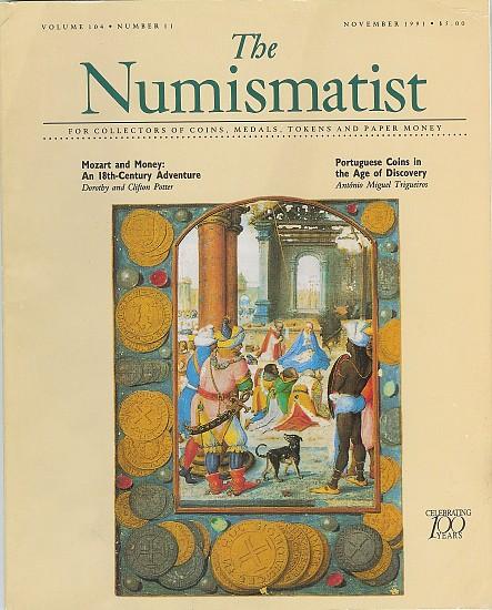 The Numismatist 1991