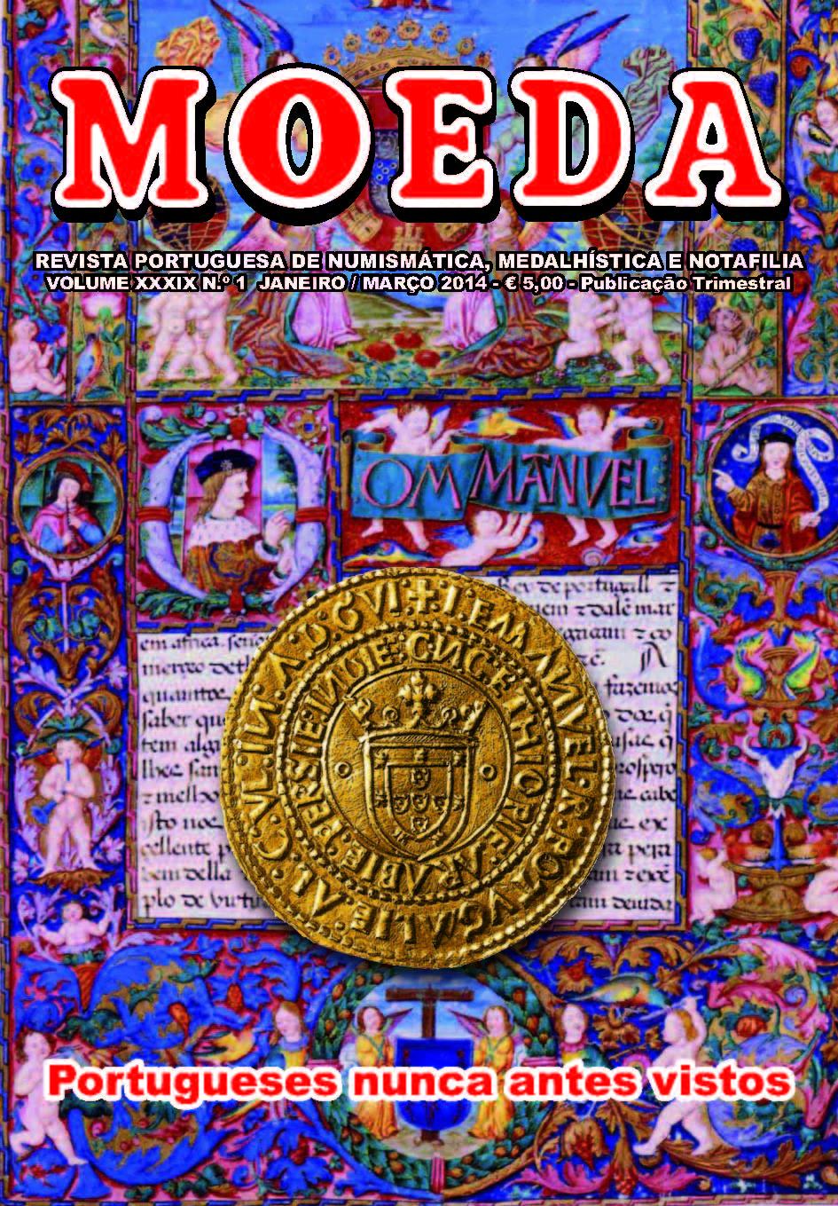 Capa Revista Moeda Portugueses de Ouro