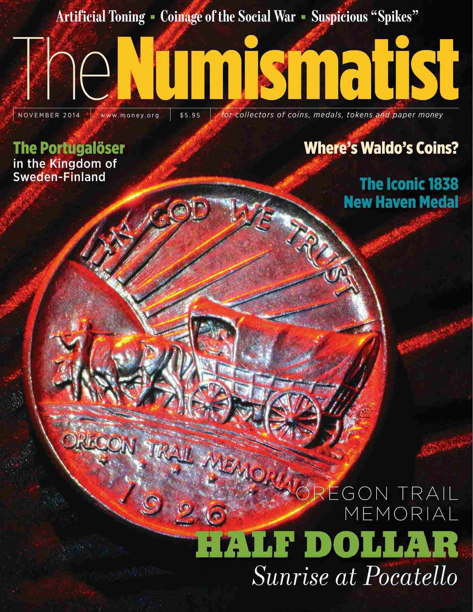 The Numismatist Nov2014 Capa