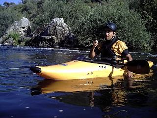 Formador de inciação à canoagem